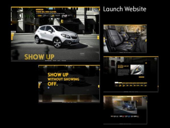Vauxhall: Launch Website Digital Advert by Scholz & Friends Berlin