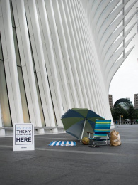 New York Sea: WTC Ambient Advert by Miami Ad School Miami