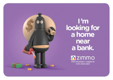 Zimmo: The Property Website for Geniuses, 4 Print Ad by Publicis Brussels