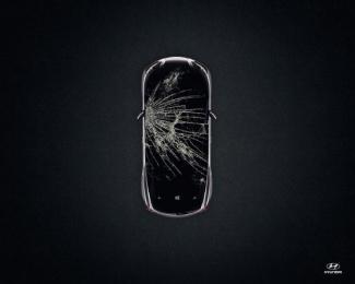Hyundai: Crash, 3 Print Ad by Punto Ogilvy & Mather Montevideo