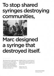Havas: Healthcare Heroes, 3 Print Ad by Havas Lynx Manchester