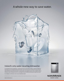NordMende: Waterbox Print Ad by REACT studios