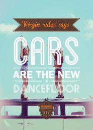Rolling Paper: Virginminded, Cars Print Ad by Road Barcelona