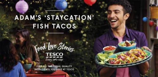 Tesco: Tesco's Food Love Stories, 5 Outdoor Advert by Mediacom London