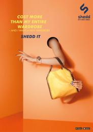 Shedd: SHEDD PRINT Print Ad by Grey Melbourne, Velvet