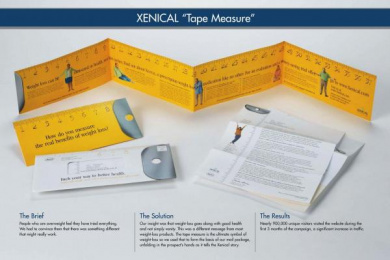 Pharmaceutical/weight Loss: TAPE MEASURE Direct marketing by Wunderman New York
