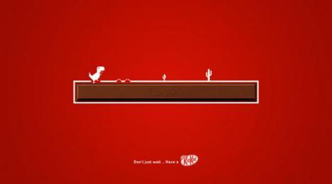 Kit-kat: Kit Kat, 2 Print Ad