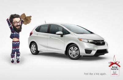 Honda: Feel Print Ad by Wax