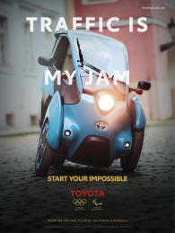 Toyota: Start your impossible, 1 Film by Saatchi & Saatchi USA
