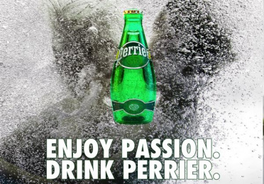 Perrier: Enjoy Passion, 2 Print Ad by Team collaboration