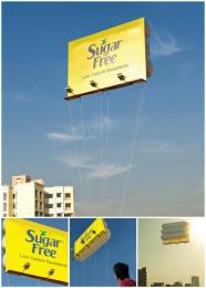 Zydus Cadila: Floating Billboard Outdoor Advert by VML Qais Mumbai