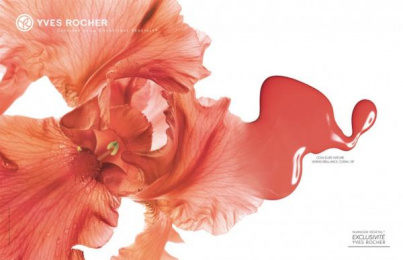 Yves Rocher Cosmetics: Red Print Ad by M&C Saatchi Paris