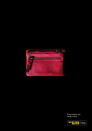 Western Union: RED WALLET Print Ad by M&C Saatchi Madrid