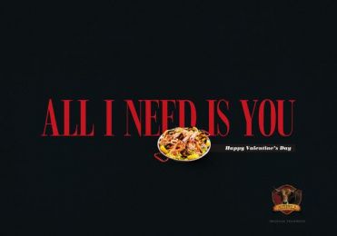 Bovinos Churrascaría: Paella Print Ad by Estudio Vivo