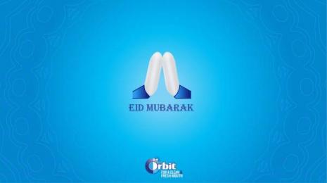 Orbit: Eid Mubarak Print Ad by BBDOMediaedge Kenya