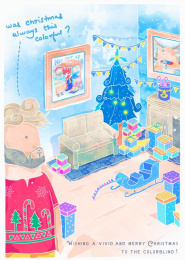rebrandingchristmas.com: New Decorations Print Ad by 360i, Seiden, Ss+k New York, Studio Klew