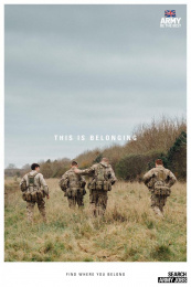 Army: This is belonging, 3 Print Ad by Karmarama London, Smuggler