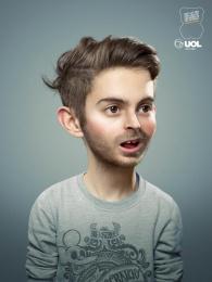 UOL parental Control: Childhood, 3 Print Ad by Africa Sao Paulo