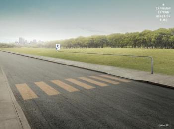 Societe Assurance Automobile Du Quebec (SAAQ): Pedestrian Print Ad by Lg2 Quebec