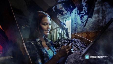 Ads Of The World: Earthquake Print Ad by Nabaroski Cairo