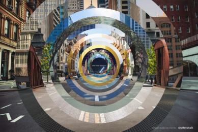 Shutterstock: Circles Print Ad by Mercado McCann