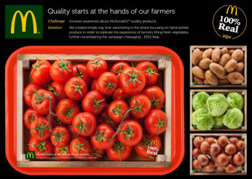 McDonald's: Quality [image] Direct marketing by TBWA Malta