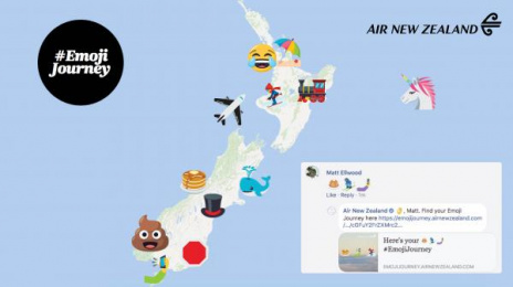 Air New Zealand: Emoji Journey Digital Advert by True New Zealand