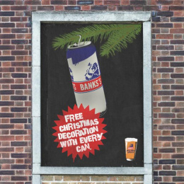 Banks's: Giant Advent Calendar, 25 Ambient Advert by Big Al's Creative Emporium