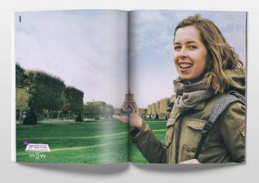 WOW Photos: Paris Print Ad by Mench Israel