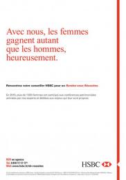 HSBC: HSBC, 6 Print Ad by Saatchi & Saatchi + Duke France