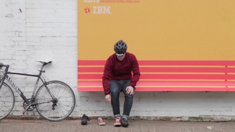 IBM Software: People For Smarter Cities Outdoor Advert by Ogilvy Paris