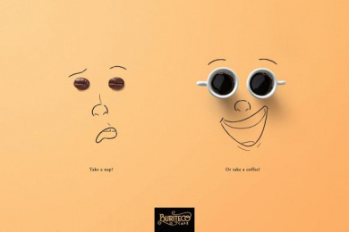 Buriteco Cafe: Take a Nap?, 2 Print Ad by Phocus Propaganda