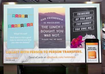 Firstbank: Birthday, Friendship, Thinking Digital Advert by TDA_Boulder