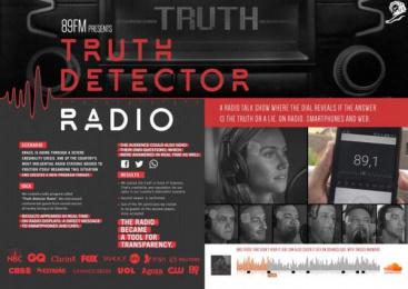 Radio 89 Fm: Truth Detector Case study by DDB Sao Paulo, Spray Filmes