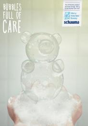Schauma: Bear Print Ad by BBDO CA Almaty
