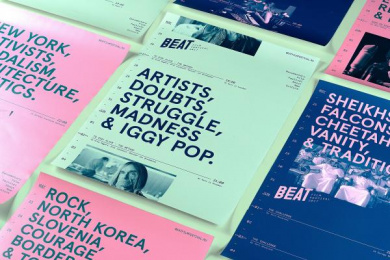 Beat Film Festival: Beat Film Festival Posters, 4 Design & Branding by BBDO Moscow