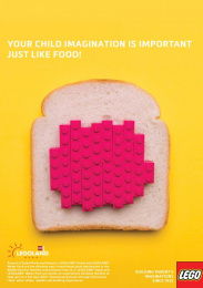 Legoland: Bread Print Ad by Team collaboration