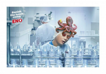 Eno: GRILLED OCTOPUS Print Ad by Ogilvy & Mather Kuala Lumpur