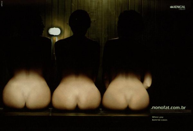 Xenical Website: ASSES Print Ad by Grottera Comunicacao