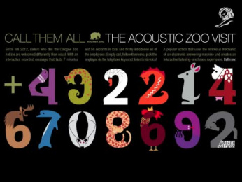 Zoo Cologne: THE ACOUSTIC ZOO VISIT [video] Direct marketing by BBDO Germany