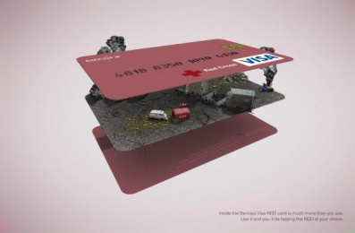 VISA NGO CARD: EMERGENCY Print Ad by Remo