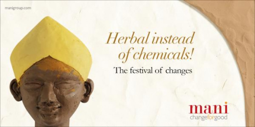 MANI: Herbal instead of chemicals Print Ad by Response India