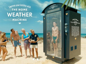 Spies: The Home Weather Machine [image] Print Ad by Robert/Boisen & Like-minded
