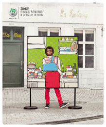 Mutualite chretienne: Cast Print Ad by Euro Rscg Brussels