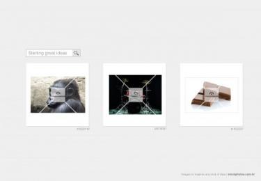 STOCK PHOTOS: Gorilla drummer Print Ad by Neogama