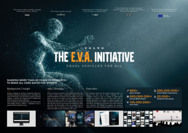 Volvo: The E.V.A. Initiative - Board Print Ad by Happy F&B, Mindshare Copenhagen, New Land