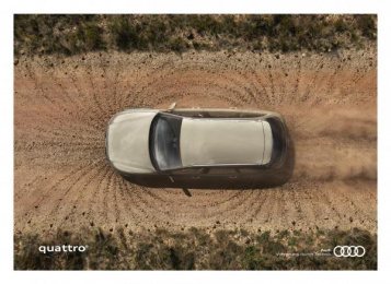 Audi Quattro: Magnetic Force - Dirt Road Print Ad by Ogilvy Cape Town