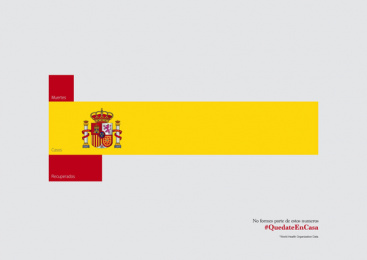 Wunderman: Covid-19 Flags, 2 Print Ad by Wunderman Tompson Portugal
