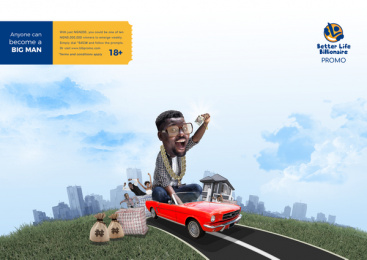 Better Life Billionaire: Big Man, 3 Print Ad by Dare Create, Lagos, Nigeria, Underdog Productions