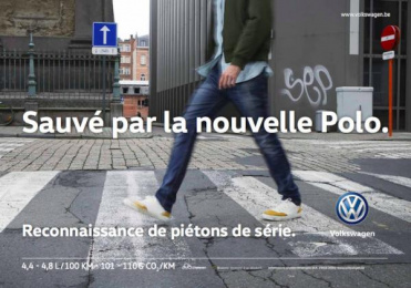 Volkswagen: Polo Safety Shoot Outdoor Advert by DDB Brussels, The Breakfast Club